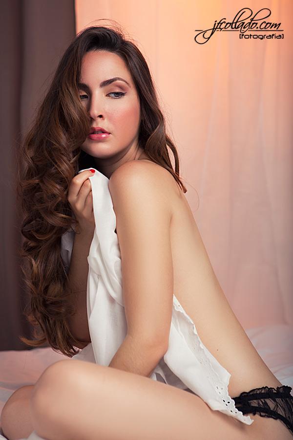 Sesión boudoir Ana